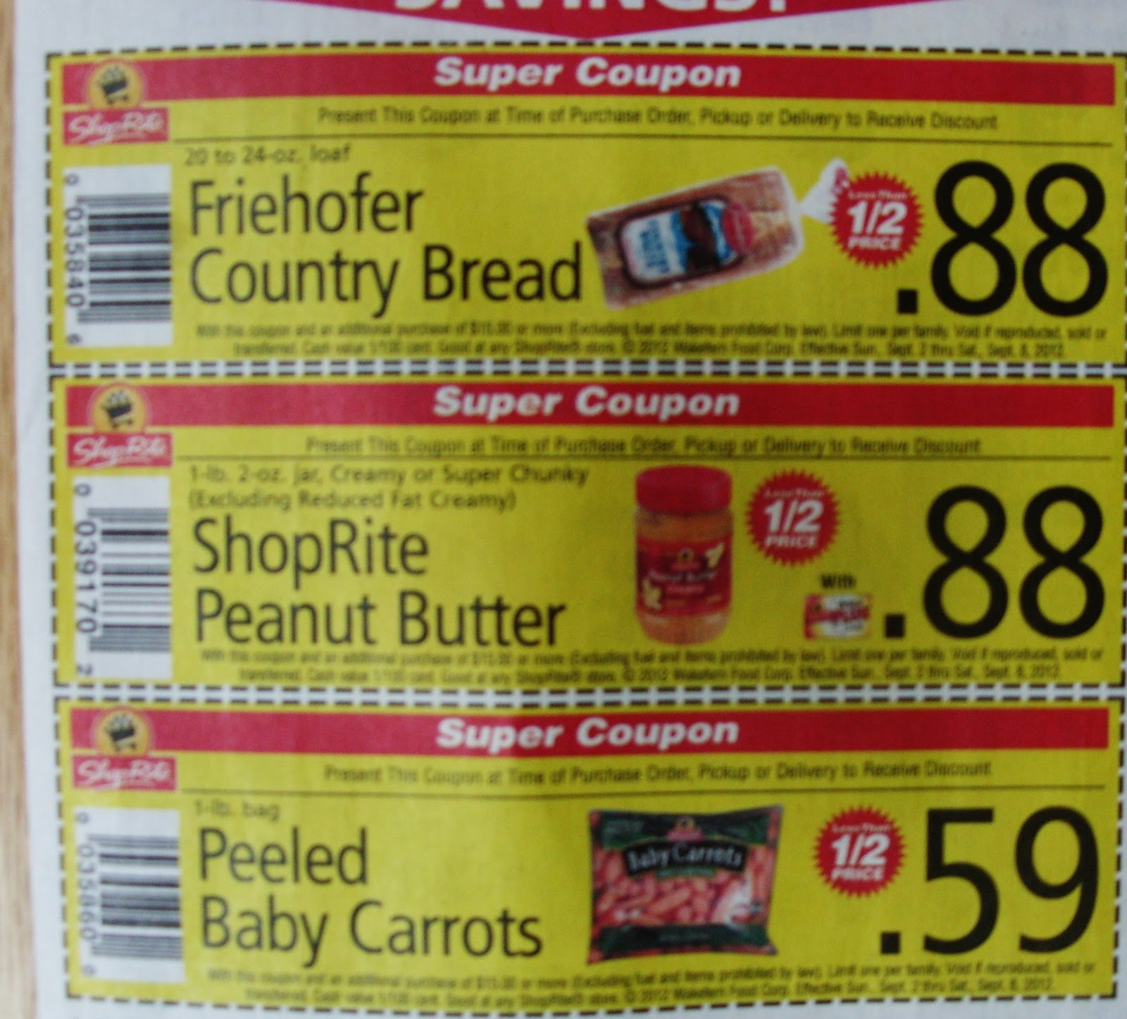 Shoprite warminster pa coupon policy
