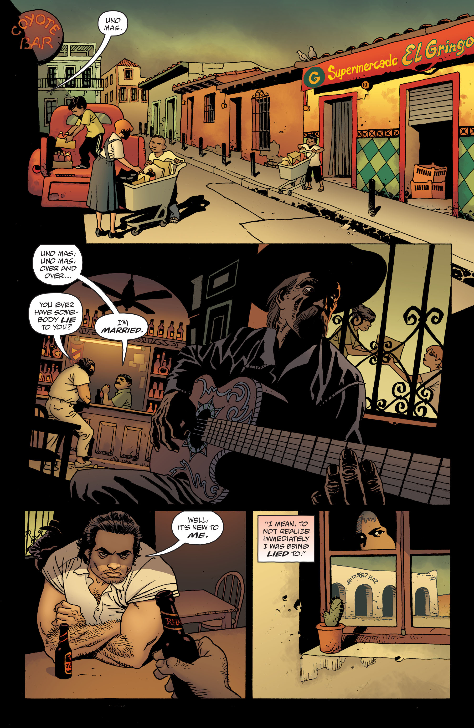 100 Bullets: Brother Lono Full Page 115