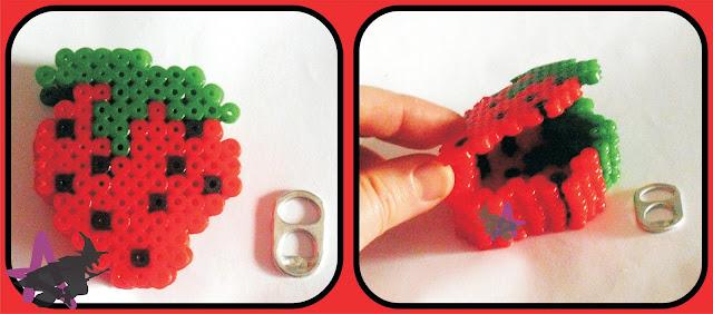 duda plantilla para joyero 3D Caja+fresa+hama+beads