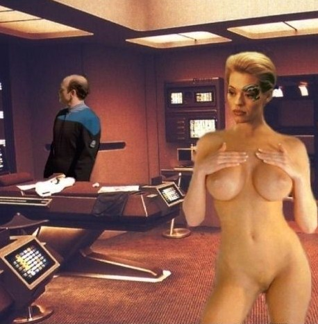 Join told Star trek seven of nine porno