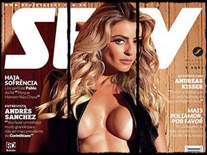 Alice Ramos Pelada Na Revista Sexy Junho 2015