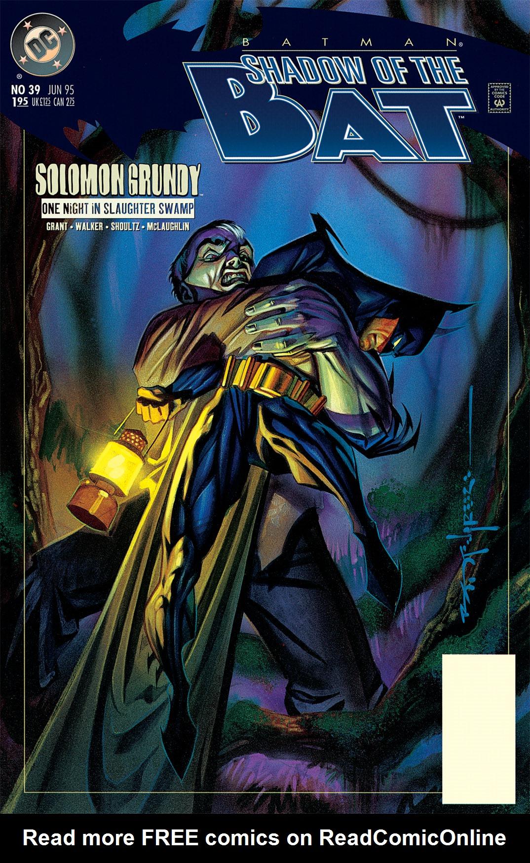 Batman: Shadow of the Bat 39 Page 1