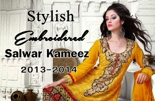 Pakistan Embroidered Salwar Kameez
