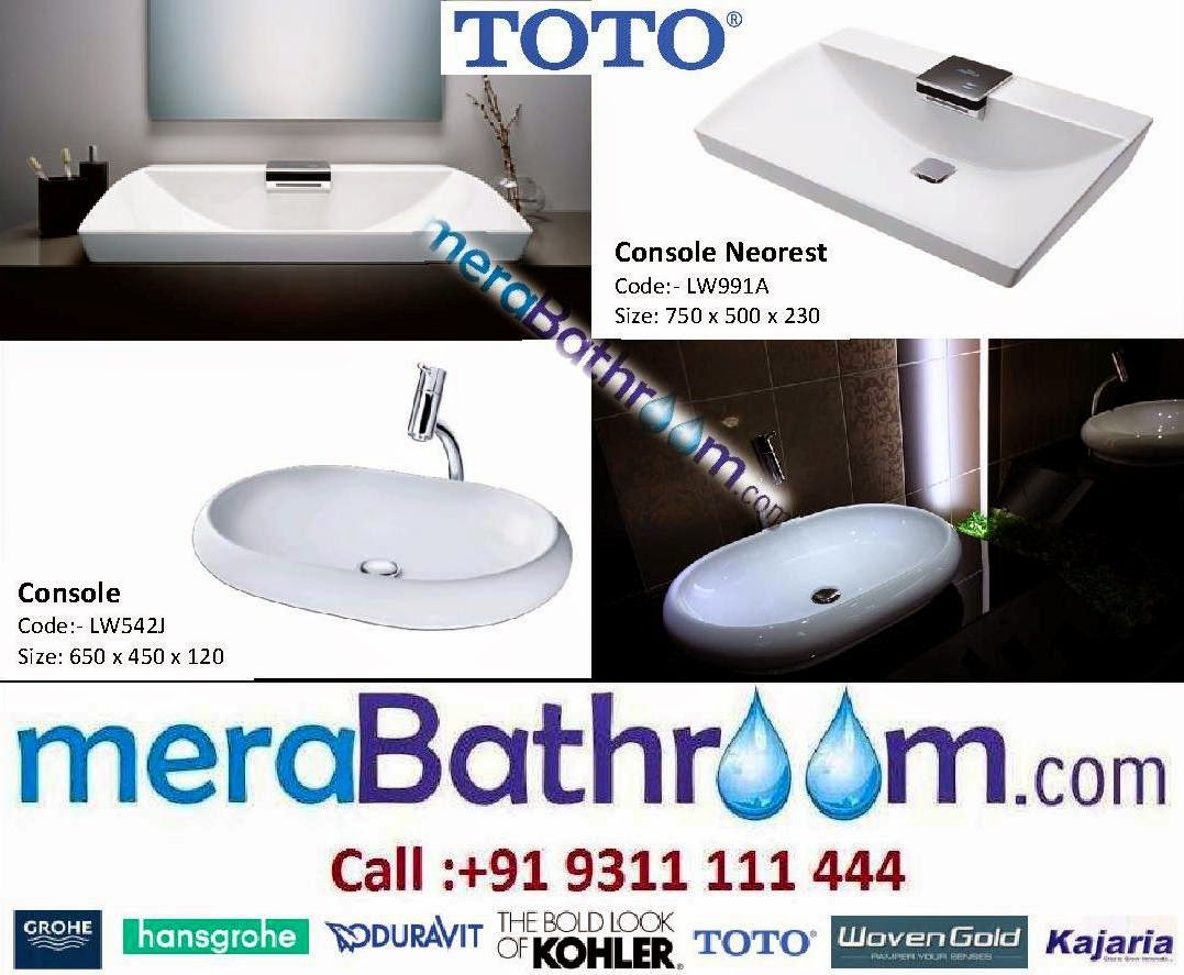 Grohe Showroom Toto Wash Basins Symbol Of Style