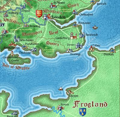 Dark Albion/RPGPundit - Corey Ryan Walden Review Maps