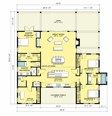 Desain Rumah Minimalis Modern 1 Lantai 3 Kamar Tidur Model Rumah
