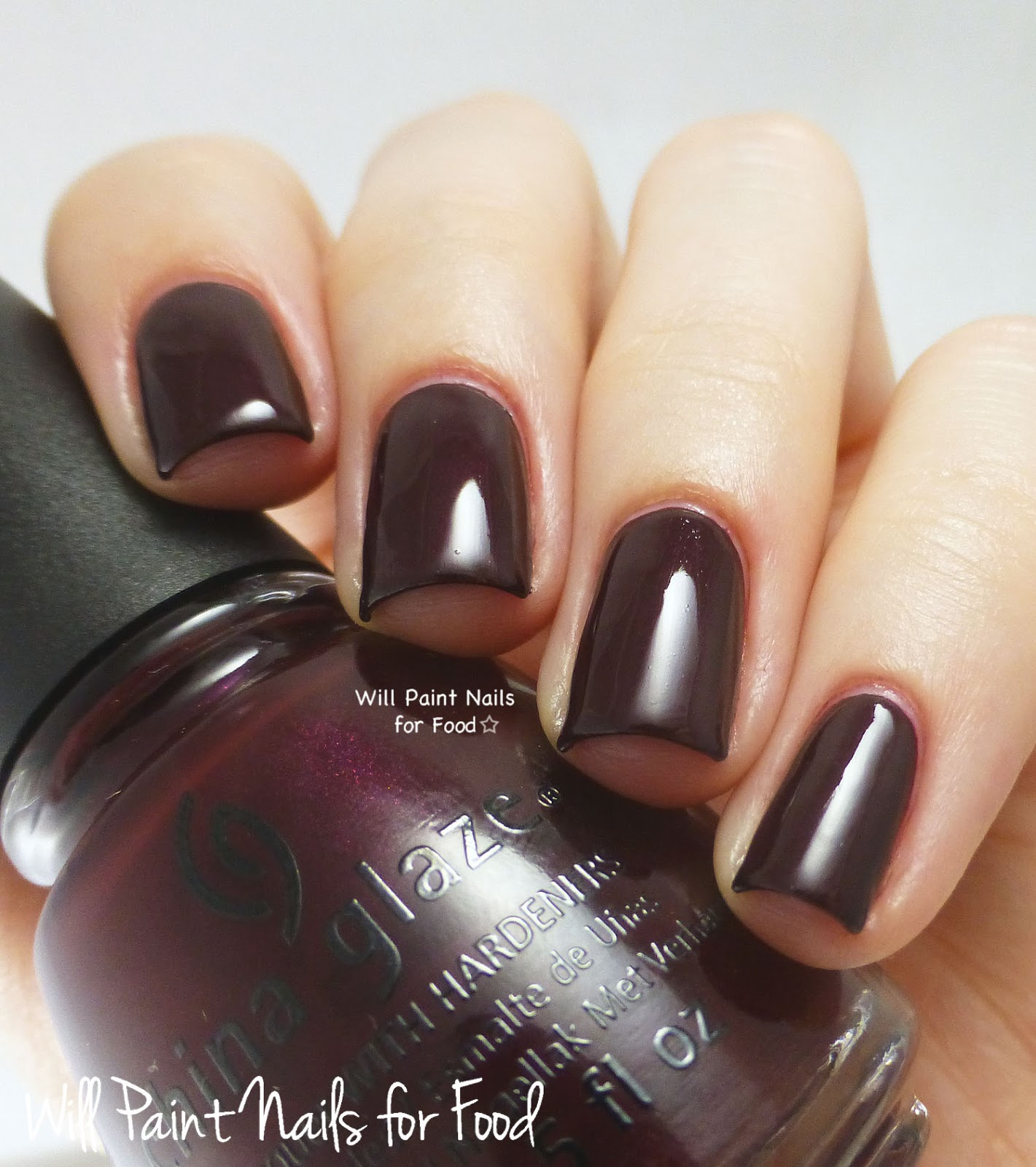 China Glaze Conduct Yourself swatch