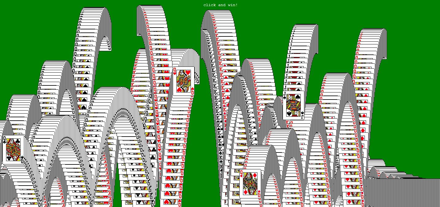 Mr doob 142 winning solitaire