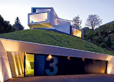 12 Inspirasi Rumah Dengan Green Roof 9
