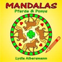 Mandalas Pferde und Ponys