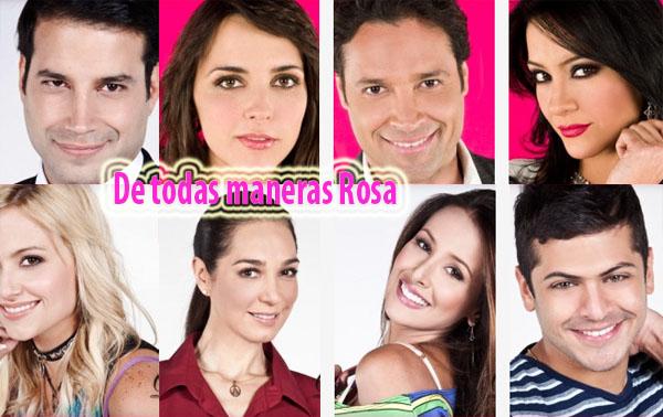 De todas maneras Rosa capítulo 51 Telenovela