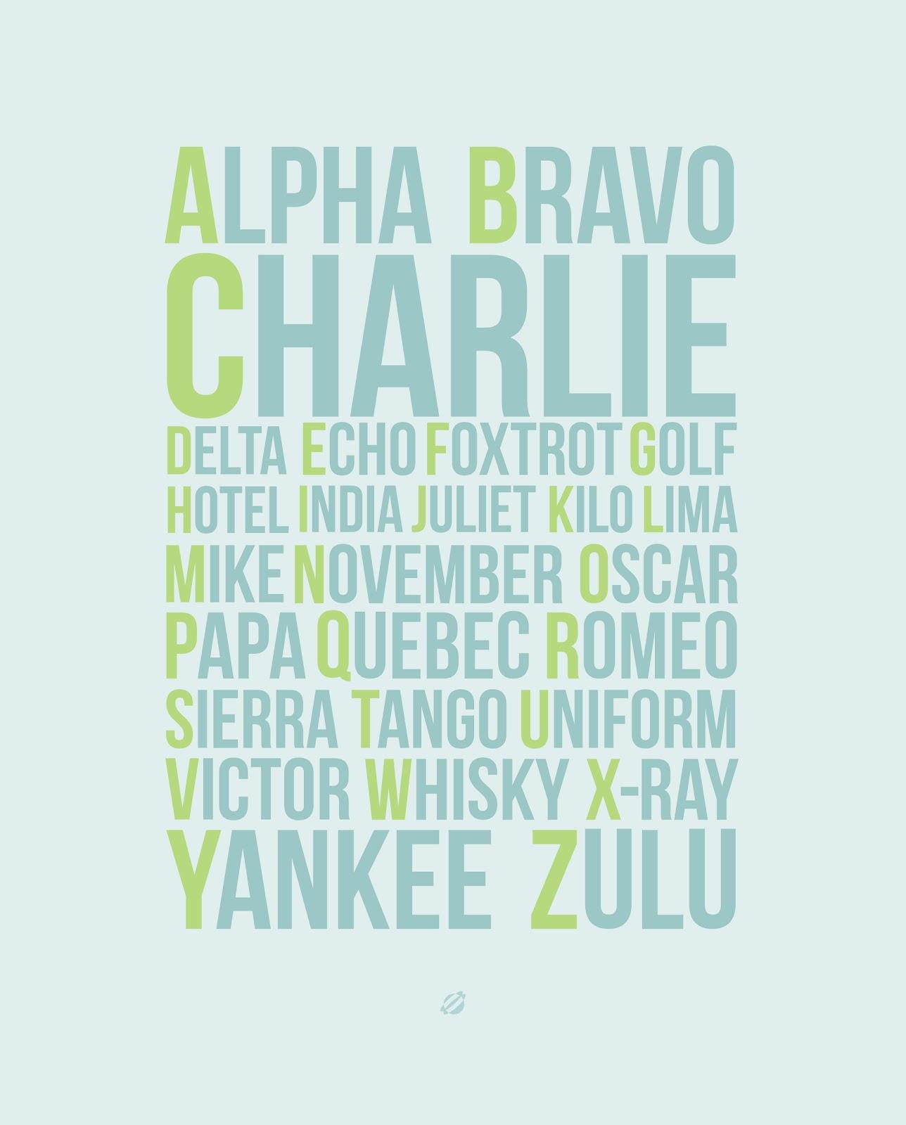 LostBumblebee 2013 Apha-Bravo-Charlie FREE PRINTABLE