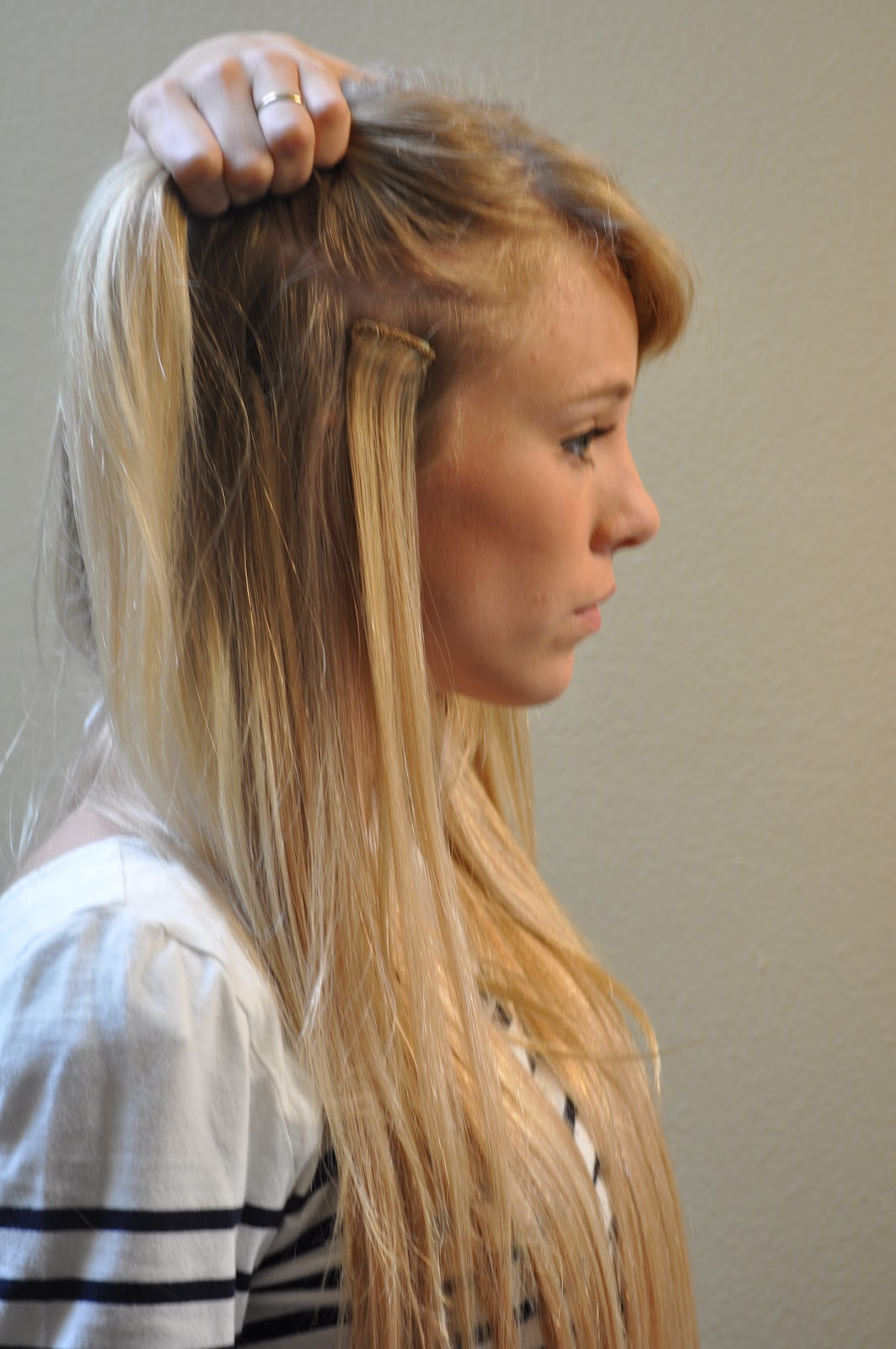 Take it from me pro extensions review and discount code i sometimes like to braid one of the front extensions in a small braid and clip it in the front like normal below pmusecretfo Image collections