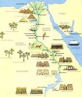 Egipto antiguo. Civilizacion egipcia. El Rio Nilo en Egipto. Egipto a tus pies