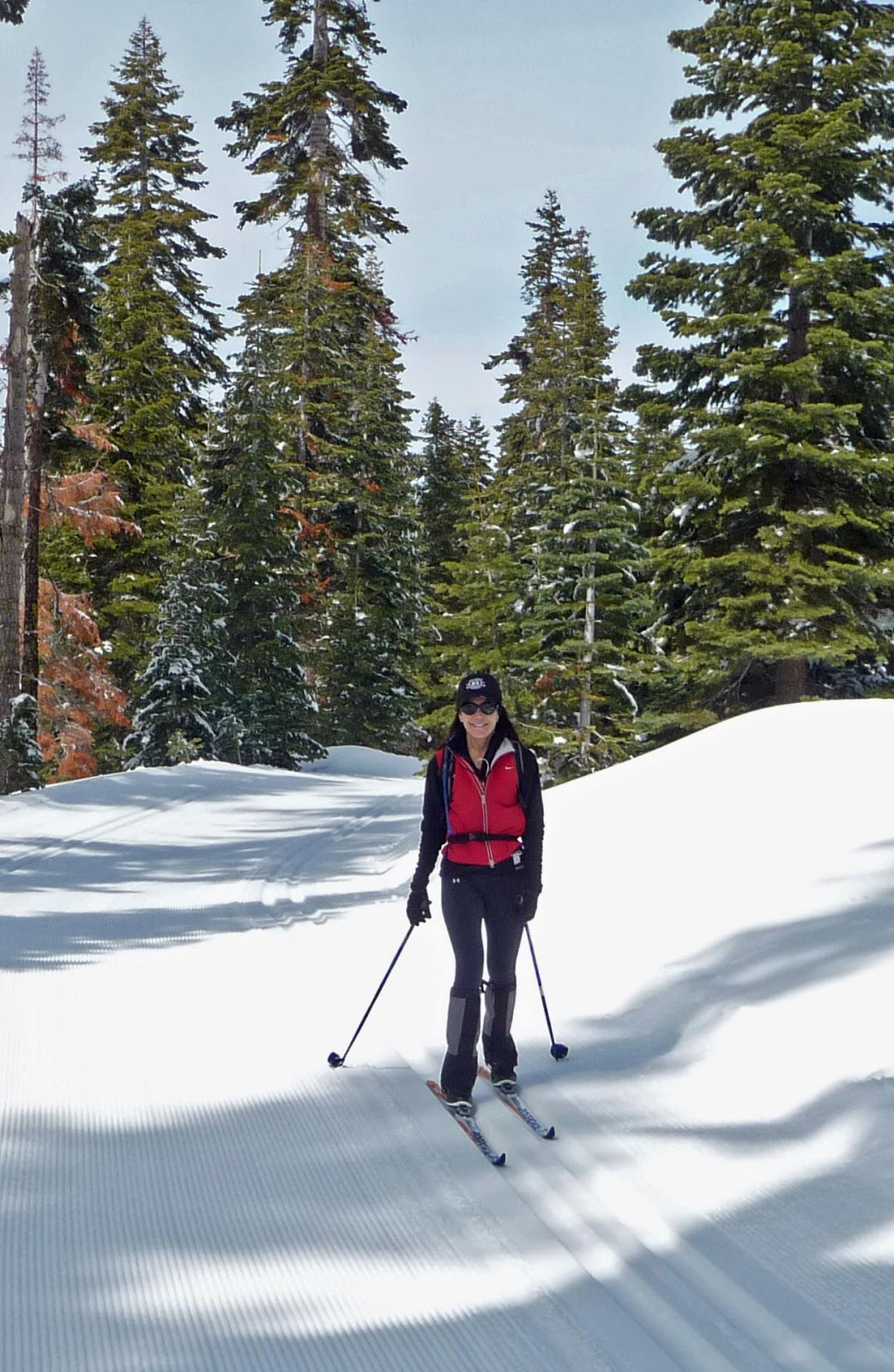 Lake Tahoe cross country ski report