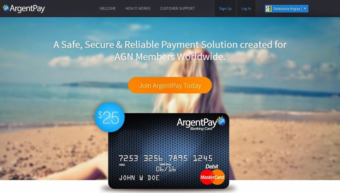 novità per Argent Global Network - ArgentPay