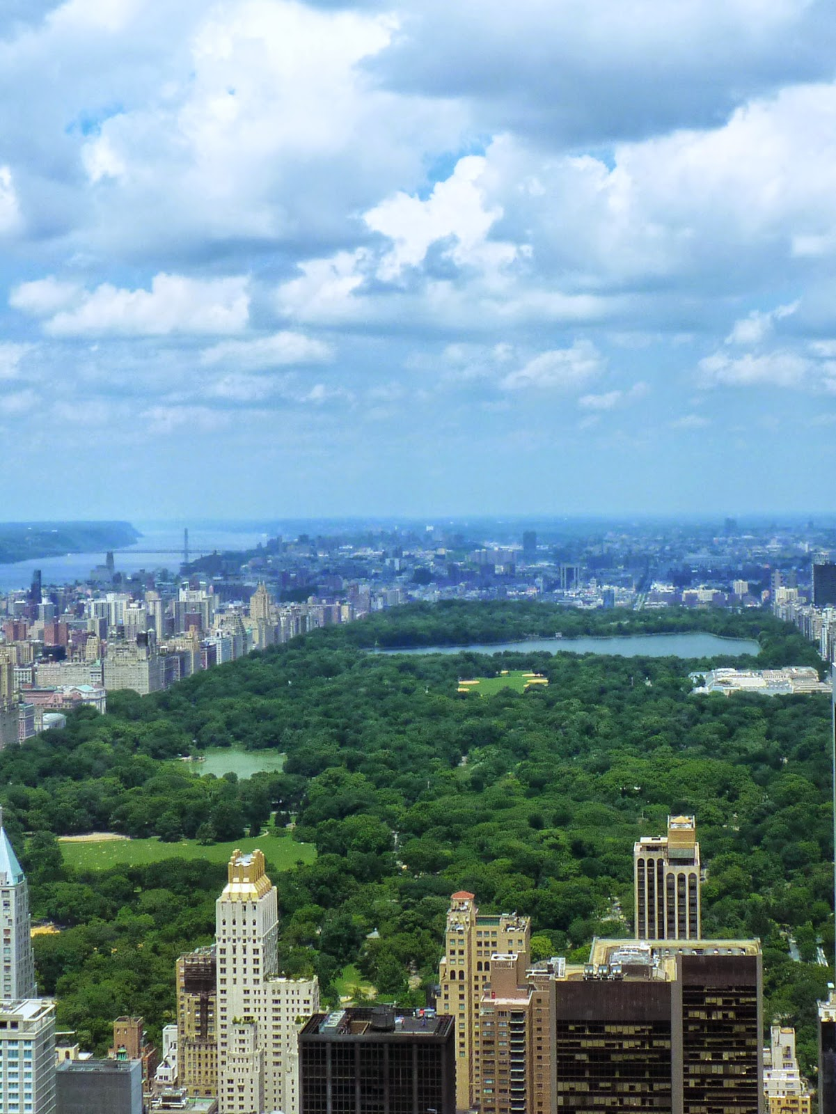 Central Park Sommer Den Central Park Sollte