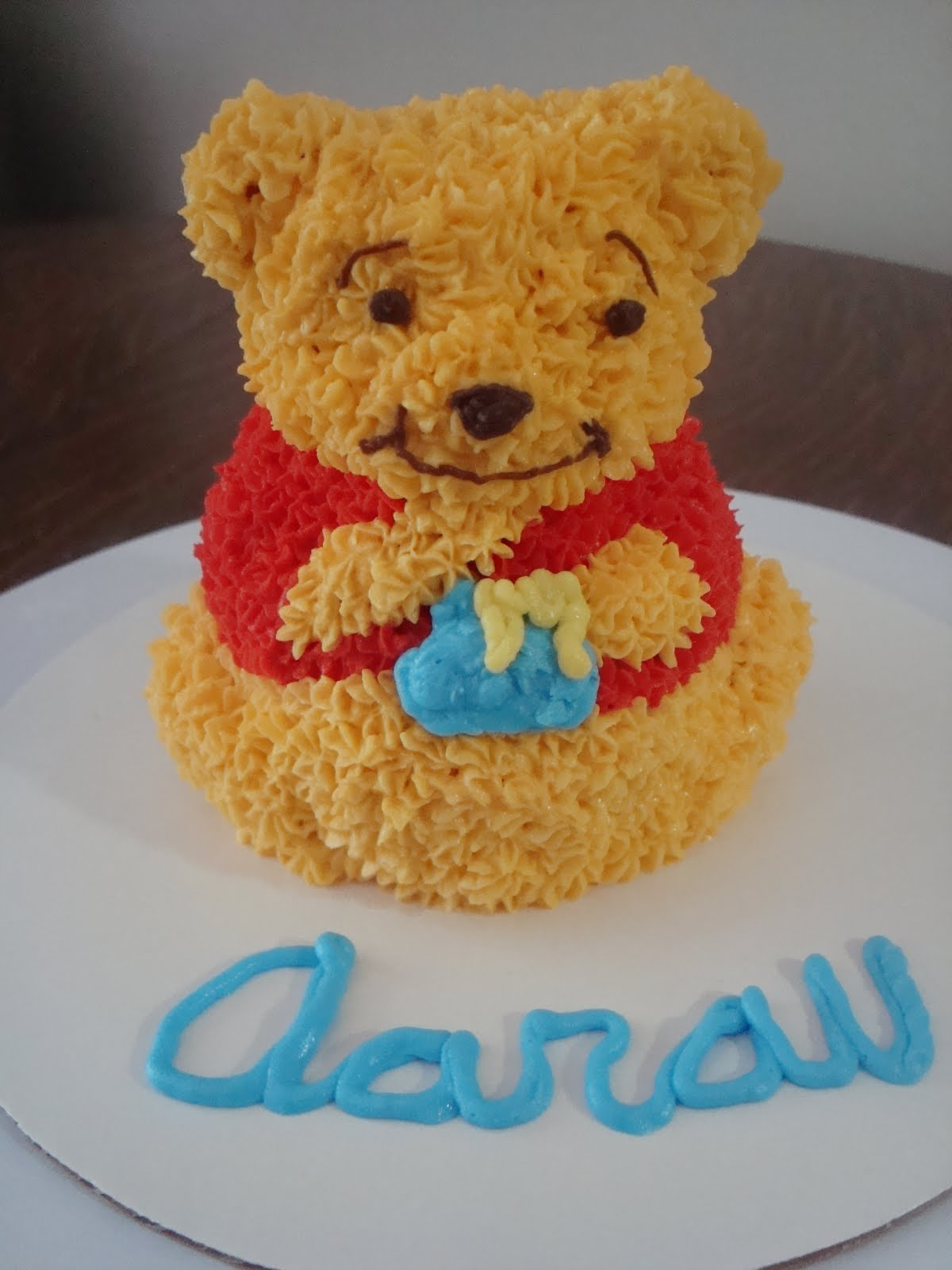Winnie the Pooh Cakes for 1st Birthday