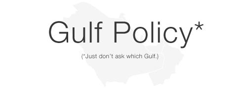 Gulf Policy
