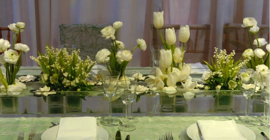 Let 39 s decorate online the best time for a wedding - Decoration table mariage nature ...