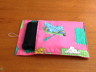 handmade ipad bag