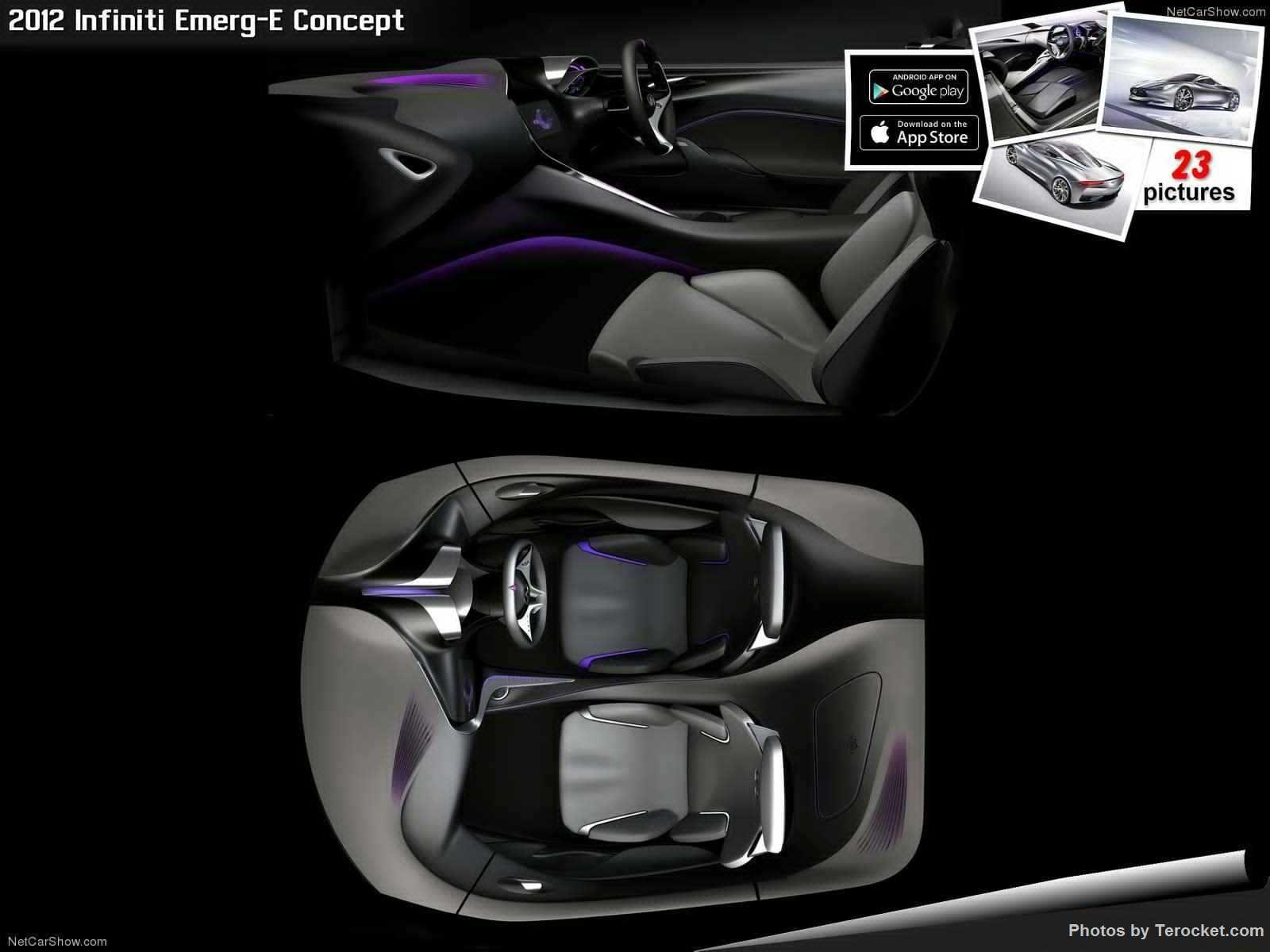 Hình ảnh xe ô tô Infiniti Emerg-E Concept 2012 & nội ngoại thất