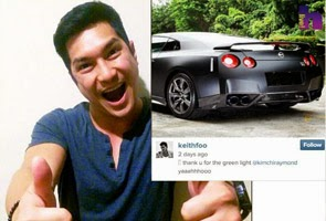 Keith Foo teruja tunang beri 'green light' beli Nissan GTR 35