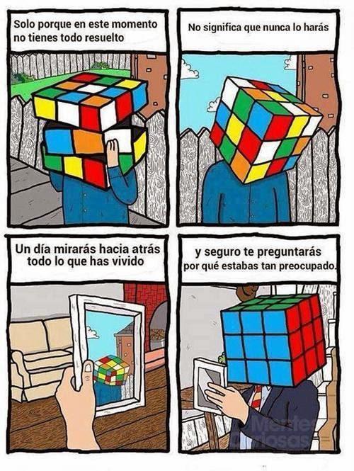 El cubo todo un filósofo