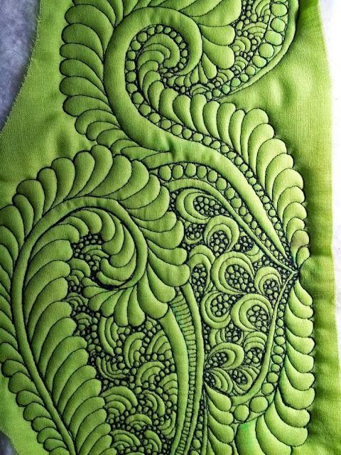 tkaniny artystycznie pikowane