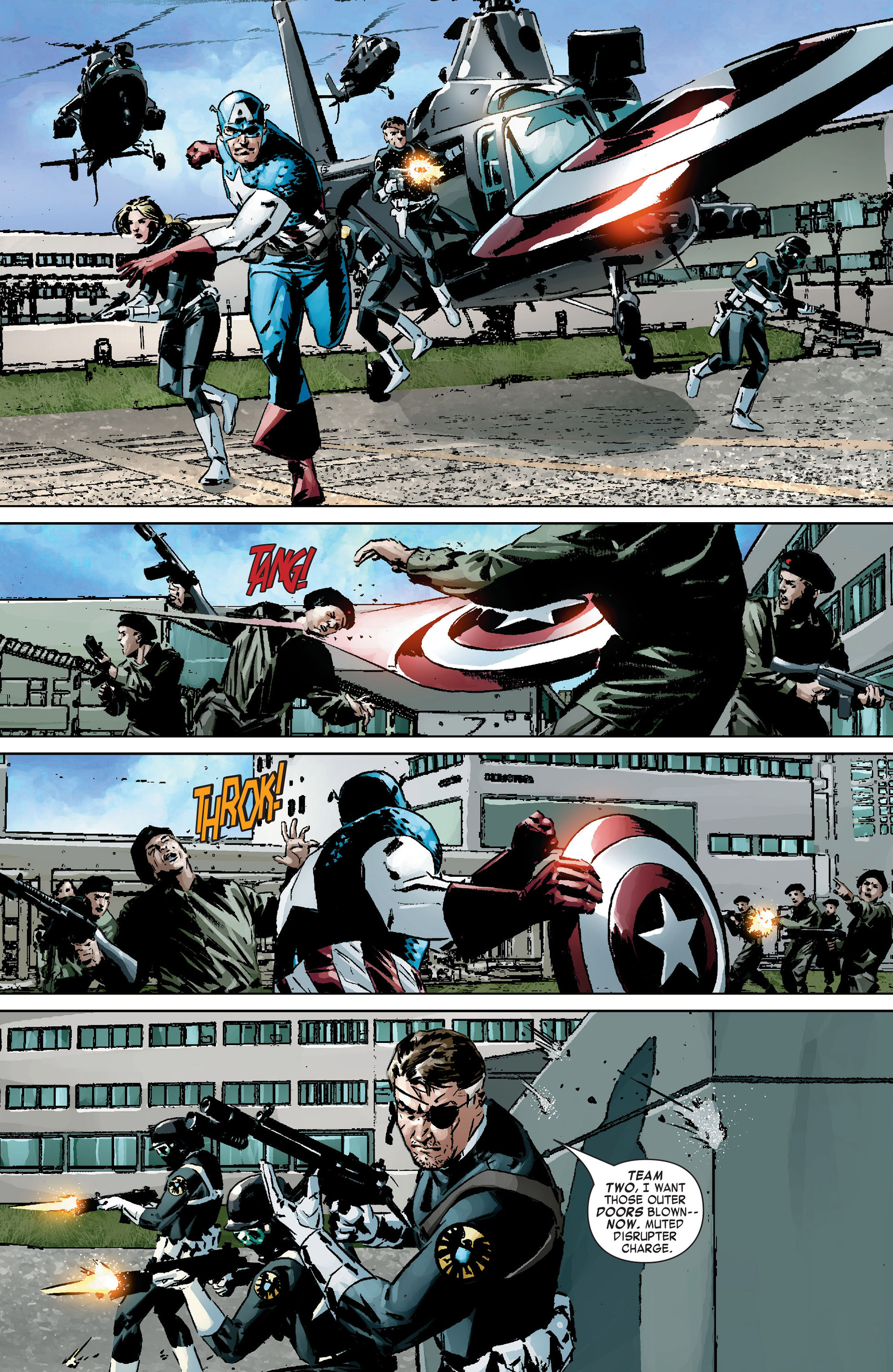 Captain America (2005) Issue #9 #9 - English 13