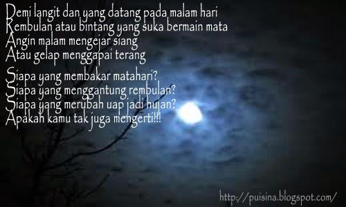 Puisi Renungan Langit Malam Jum'at