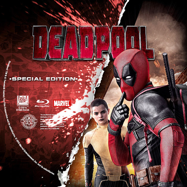 Label Bluray Deadpool