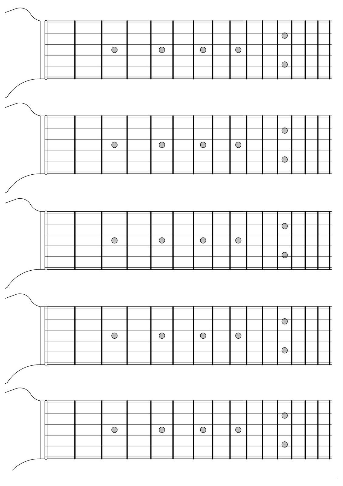 Lezioni di chitarra febbraio 2011 - Pagina da colorare per chitarra ...
