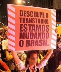 manifestações de São Paulo