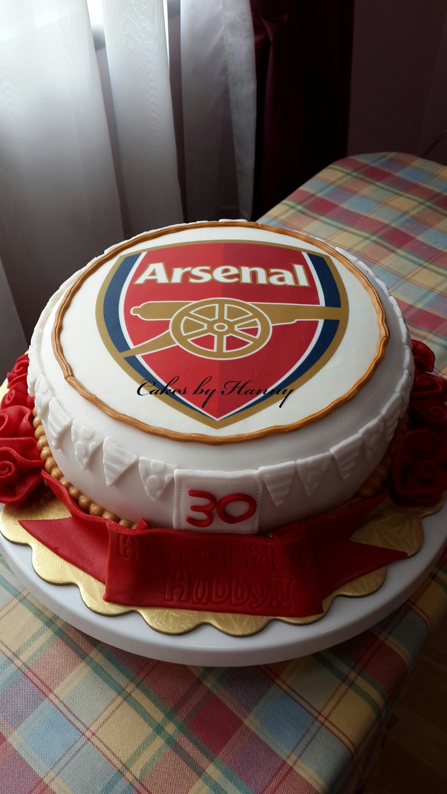 Cakes By Hanny Arsenal Cake