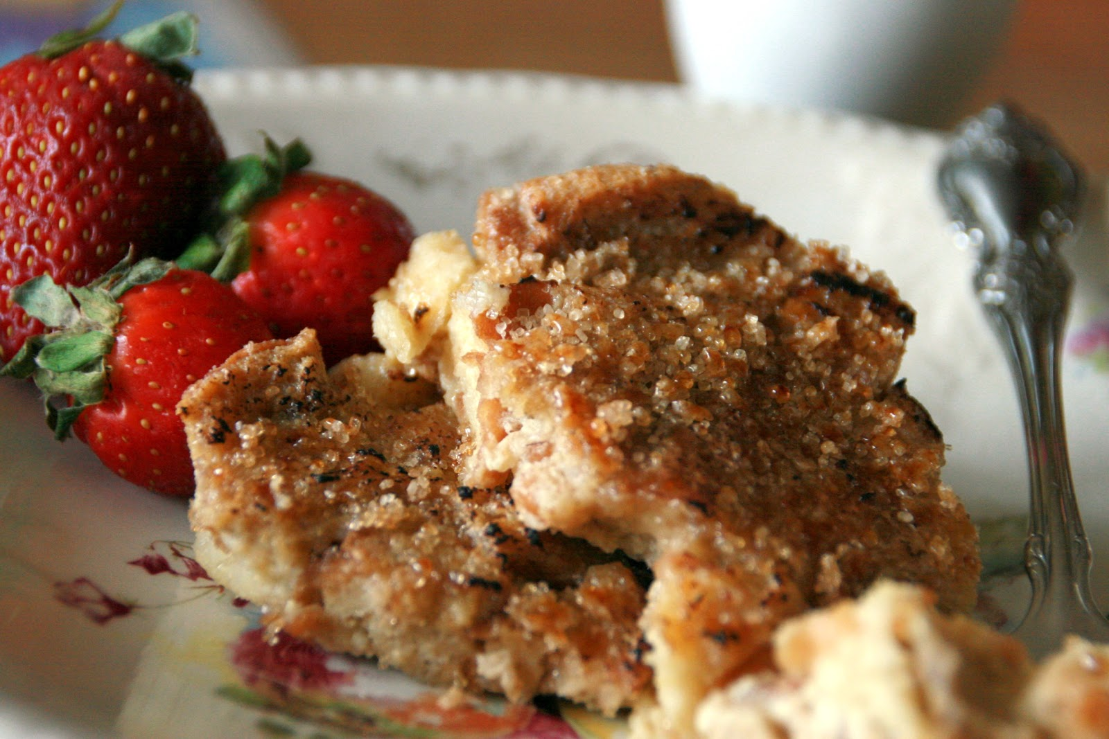 Cooking with Chopin, Living with Elmo: Creme Brulee French Toast