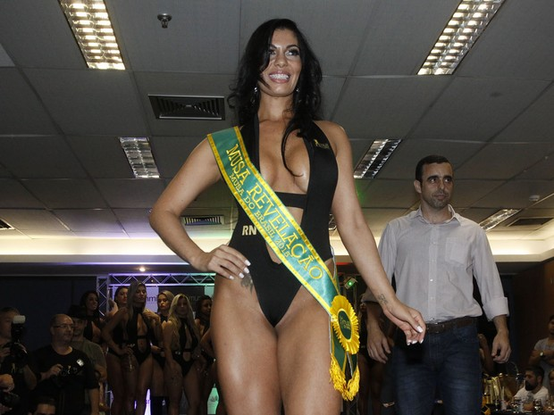 Kelly Silva of Rio Grande do Norte, is elected as the Revelation Muse Muse Brazil