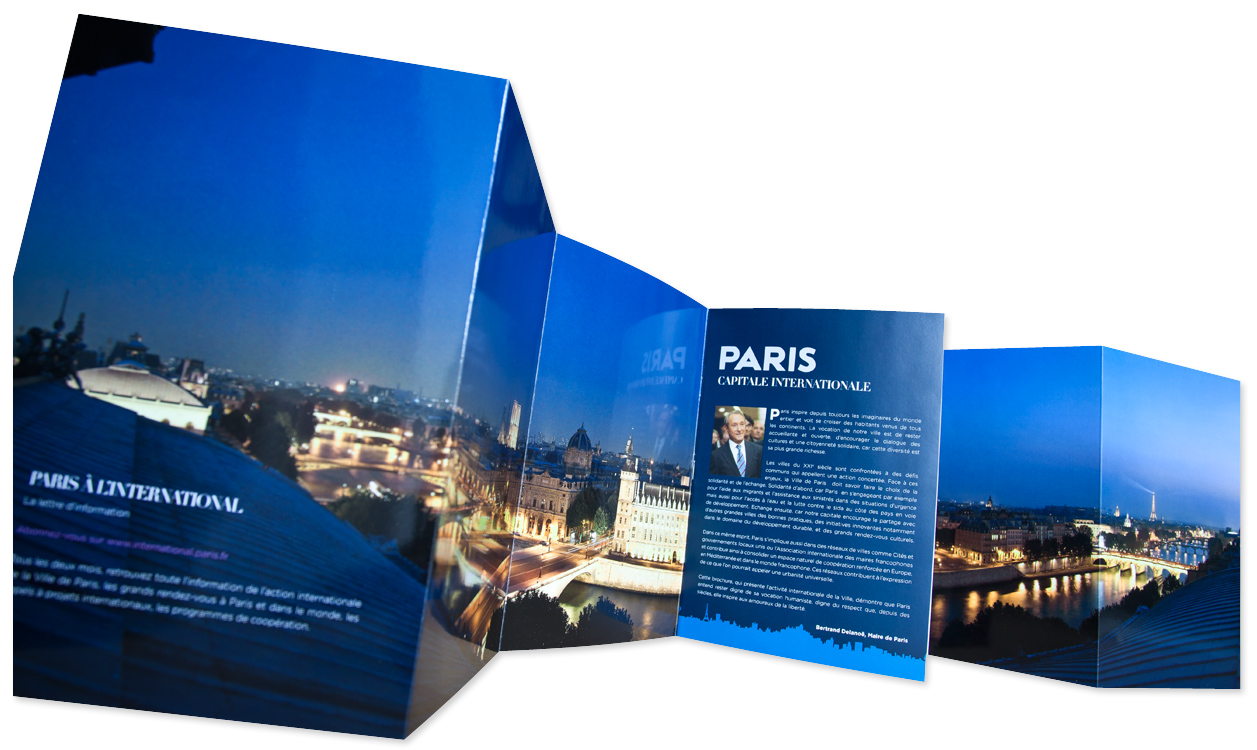 brochure samples pics  brochure paris