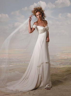Straps Mermaid Woven Wedding Dress