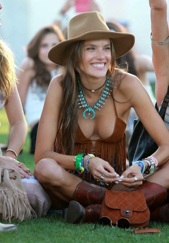 Alessandra Ambrosio – 2015 Coachella Music Festival