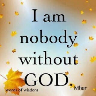 dp bbm i am no body without god gambar foto display
