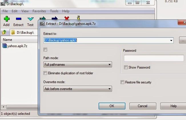 cara membuat file 7z dengan aplikasi 7-zip di windows