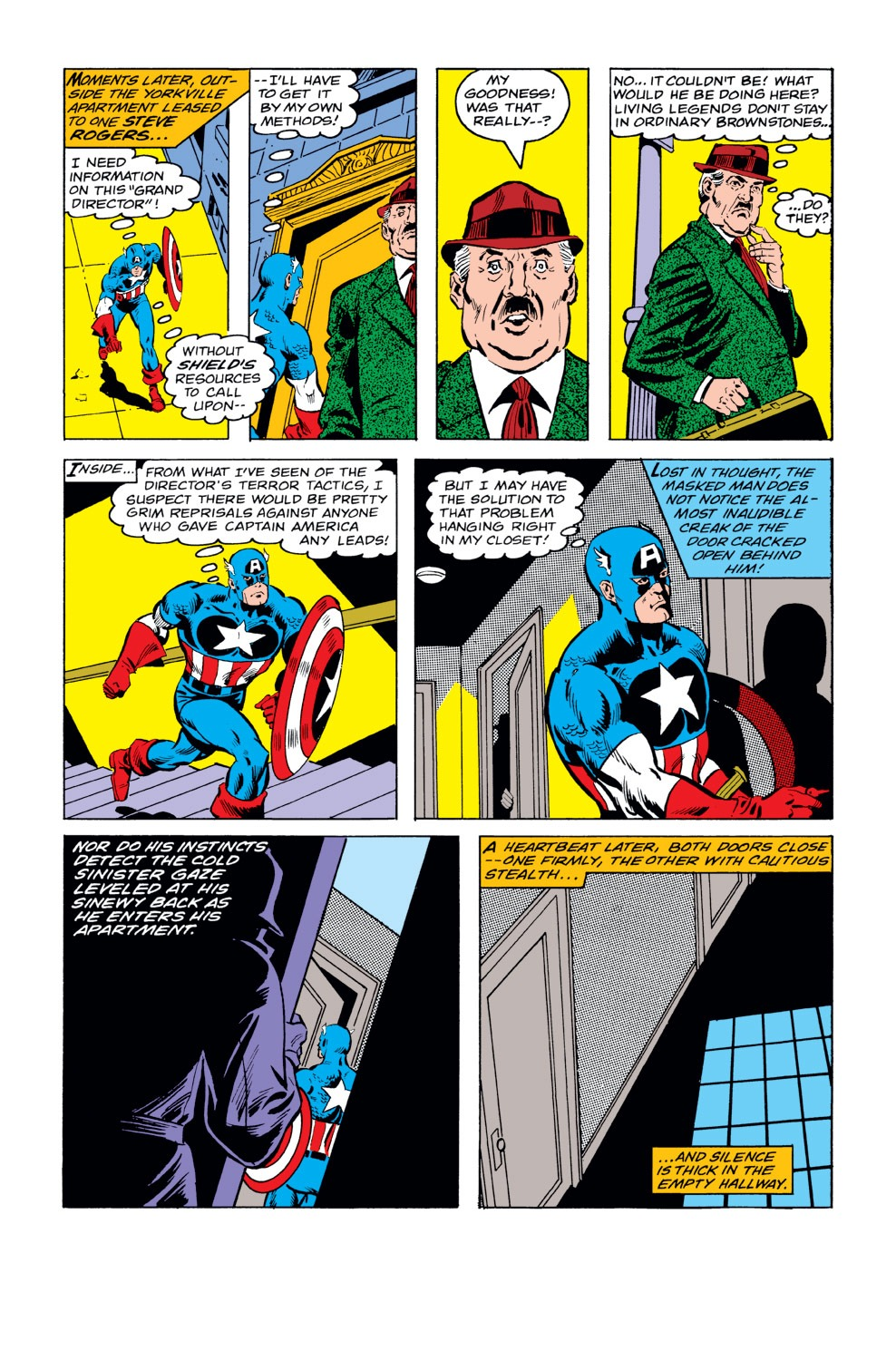 Captain America (1968) Issue #232 #147 - English 8