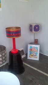 lampe faites en collaboration avec sandrine cerdan