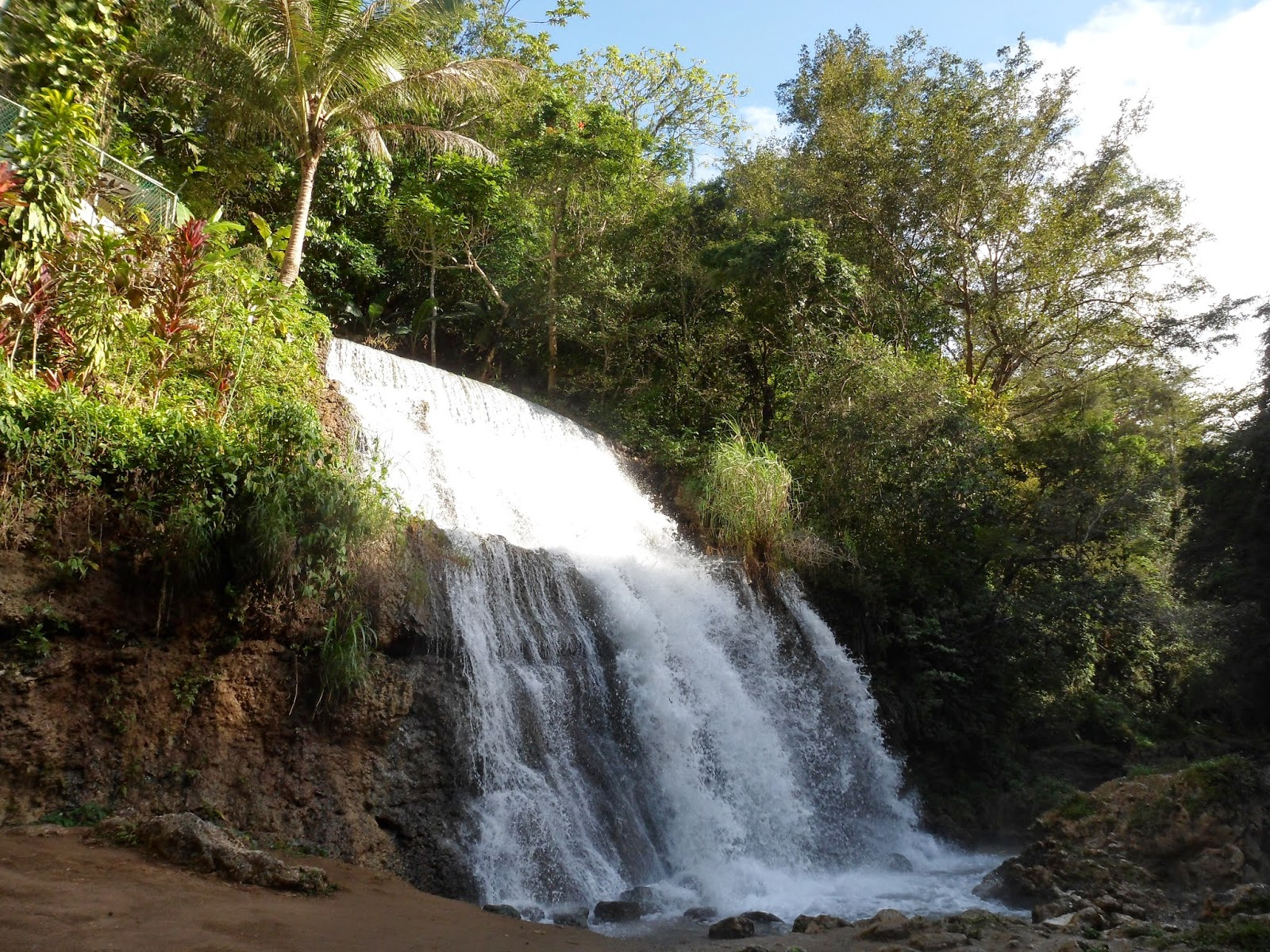 waterfall, Arecibo, Puerto Rico, honeymoon