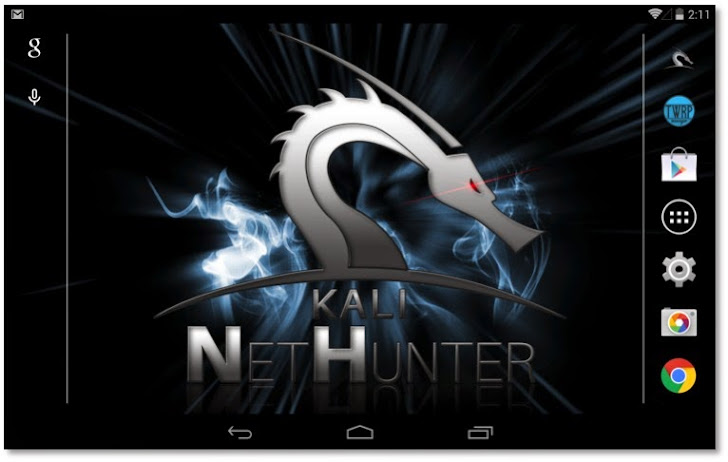 Kali Linux nethunter hacking tool android
