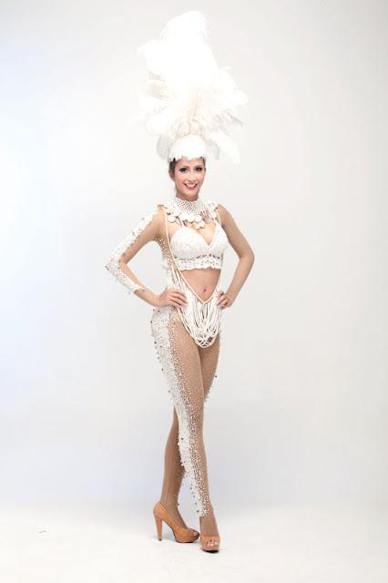 Srta. Colombia 2011-2012. Desfile en traje artesanal Cartagena: Laura Cantillo Torres