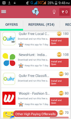 Money Earn : New Free Recharge App for Android Grappr App Added