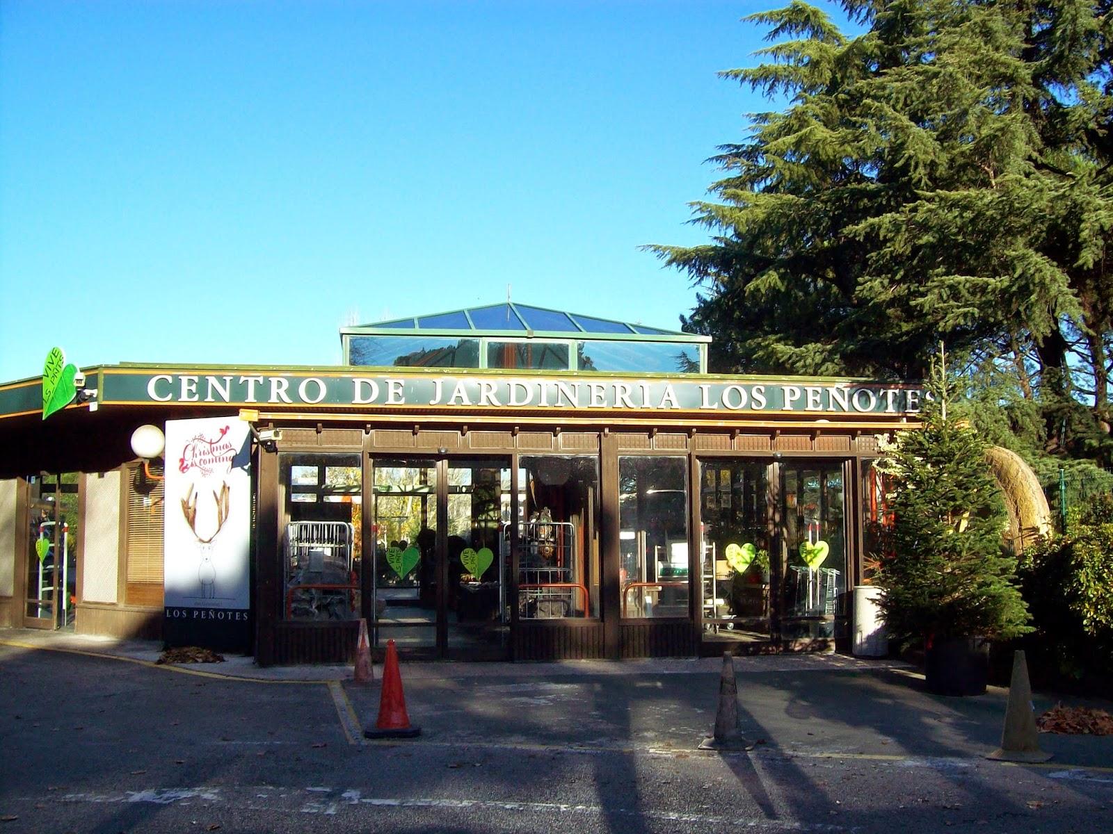 Letras de interior visita a garden center los pe otes - Garden center madrid ...