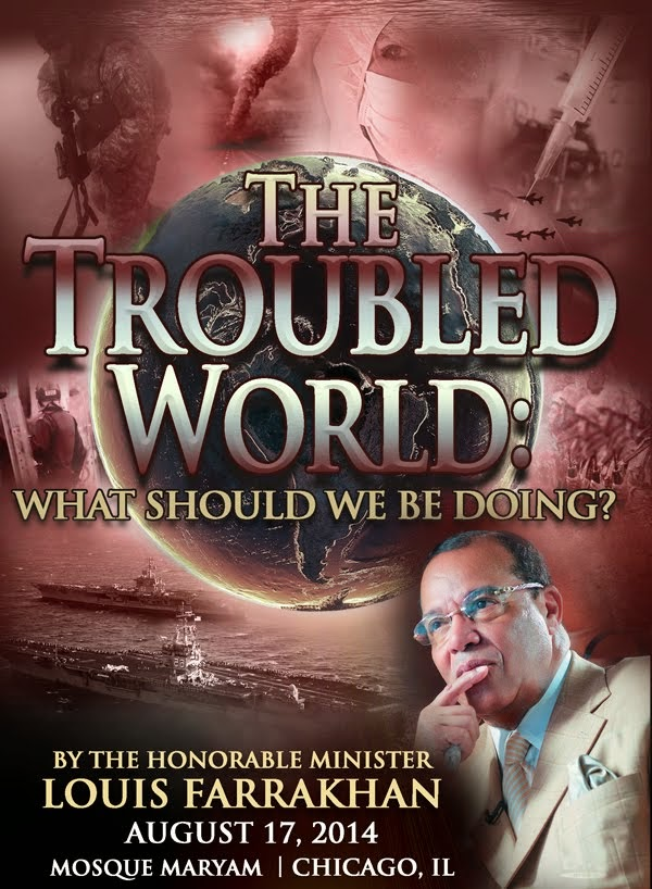 A vital message from the Honorable Minister Louis Farrakhan!